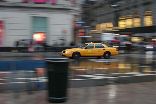 New York Cab by starrchild