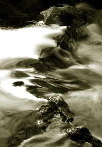 Yorkshire stream by lensman
