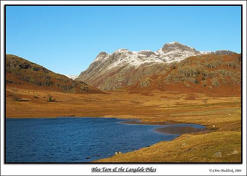 Blea Tarn & the Langdale Pikes by chris.maddock