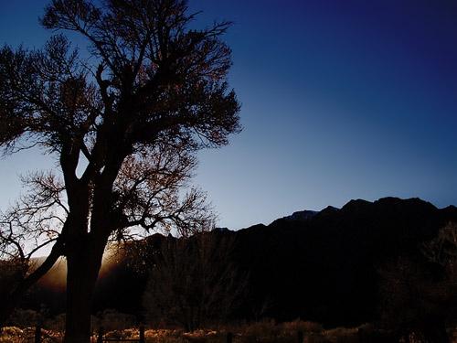 Mountain Sunset by bradp