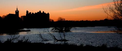 Sundown over the Loch by saggy9999