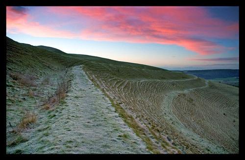 Sunrise over Dorset by katieb
