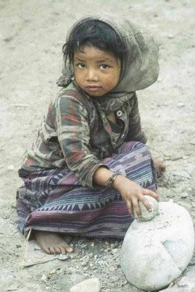 Nepalese Girl by pgarwood