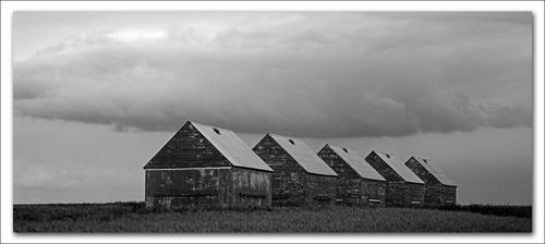 Prairie Huts (Repost) by psiman