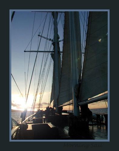 Morning Sail by thetriguy