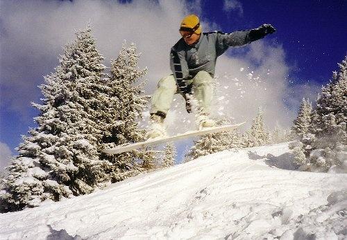 Powder Jump by jon1169