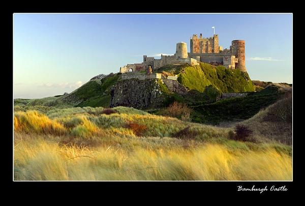 Bamburgh Castle by johnc1711