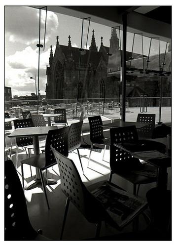 Selfridges Cafe by victorburnside