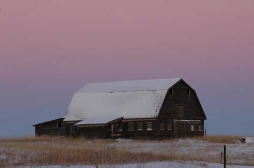 Empty Barn by Danno