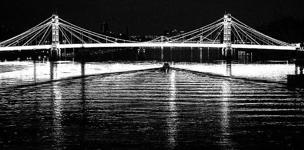 Chelsea Bridge by alzeepark