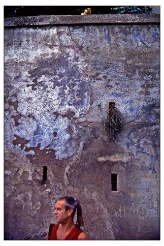 Man in Rome by victorburnside