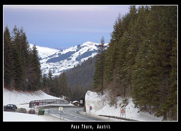 Pass Thurn, Austria by Stevo
