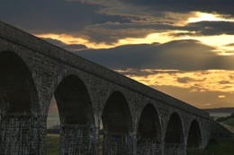 Sunset at Cullen Viaduct