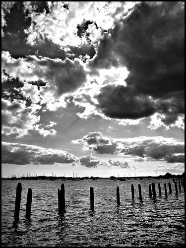 Sun Breaking Through the Clouds by peterhorner