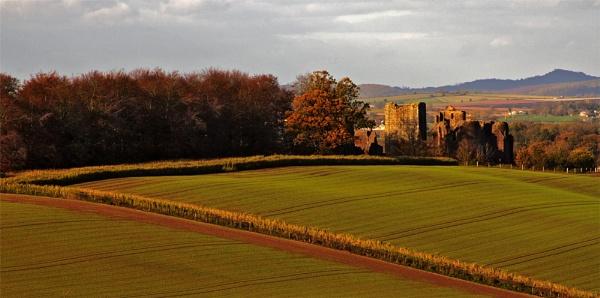 View towards Goodrich castle by MikeA