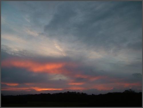 Fiery Skies by alfsky