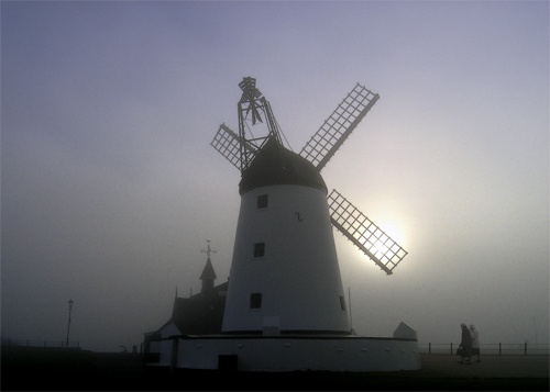 Mill In The Mist,Lytham by victorburnside