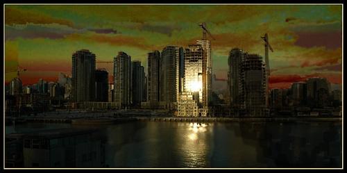 Vancouver glows by daviewat