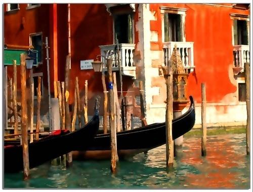 Gondolas (2) by photopharm
