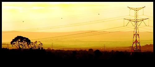Man&Nature at Sunrise by elikag