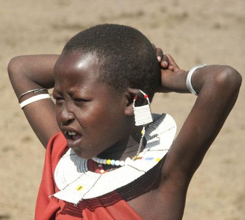 Maasai Child by AntonR