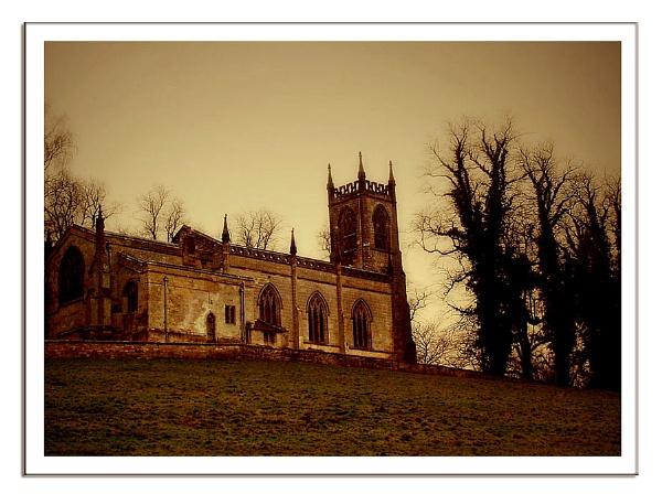 Spooky Church by lyne