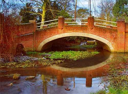 Needham Market Bridge by Rosie