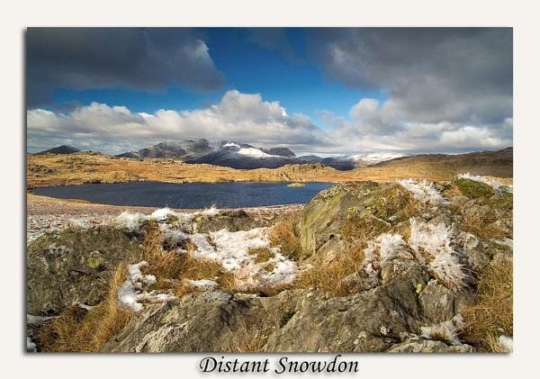Distant Snowdon by Skinz