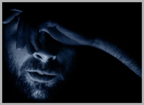 Thinking Blue by eskimo