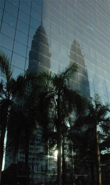 Petronas Reflections by ticklemymonkey