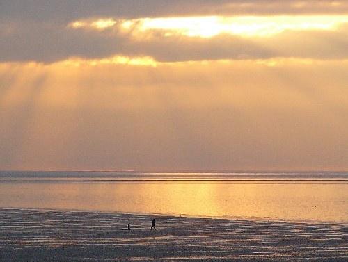 Hunstanton sunset by ellis rowell