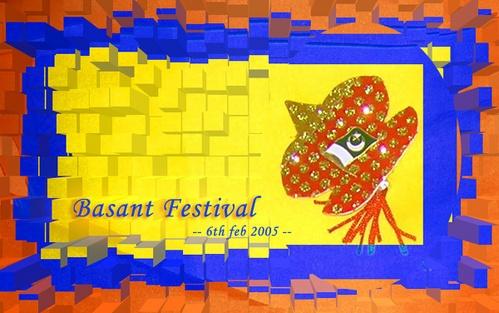 Basant Festival by bismah
