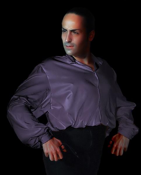 Flamenco man2 reworked by elaine max