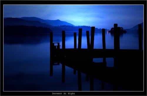 Derwent at Night by chrissycj