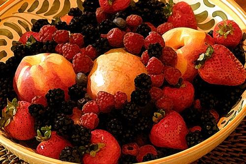 Still Life - Bowl of Fruit by gipperdog
