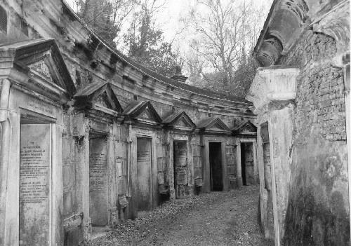 Highgate Cemetery 2 by casey