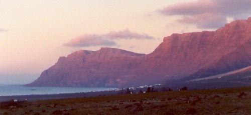 Purple Cliffs by casey