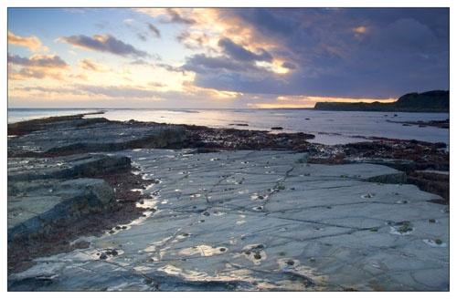 Kimmeridge sunset by samie18