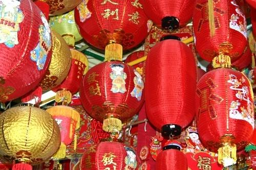 Hong Kong Lanterns by EnglishRose