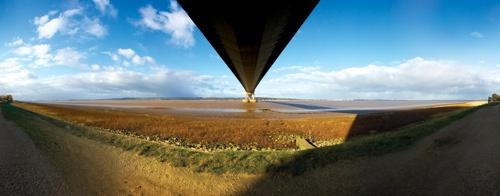 Humber Bridge by moto