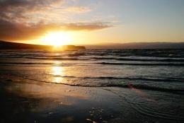 Sunset, Heads of Ayr