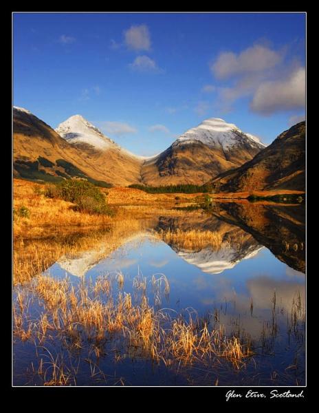 Glen Etive, Scotland. by johnc1711