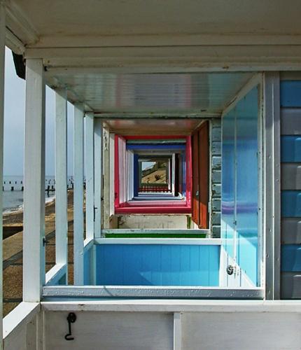 through the beach huts by gill_f