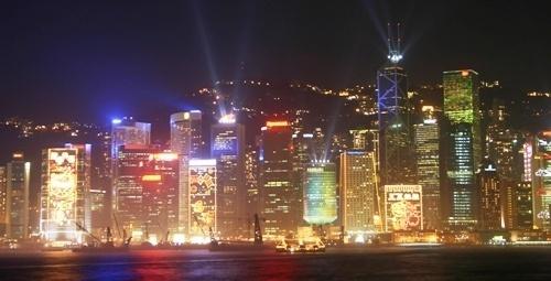 Hong Kong Island by EnglishRose