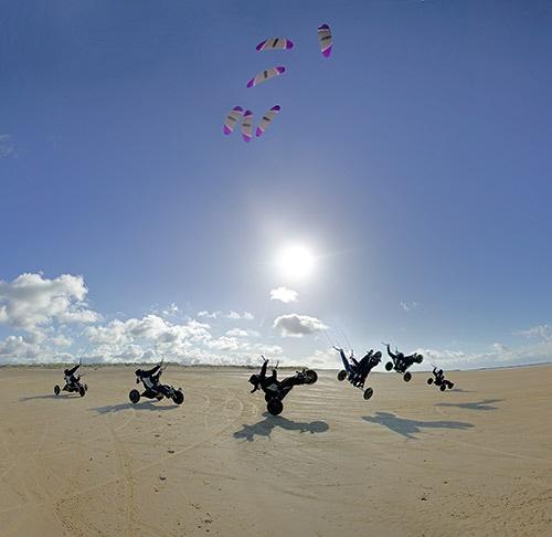 Kite jump by philwig