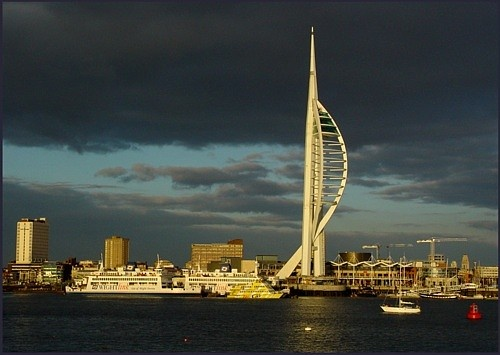 Portsmouth Harbour by annadave