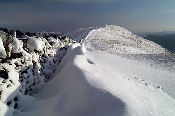 Helvellyn Snow by pfheyes