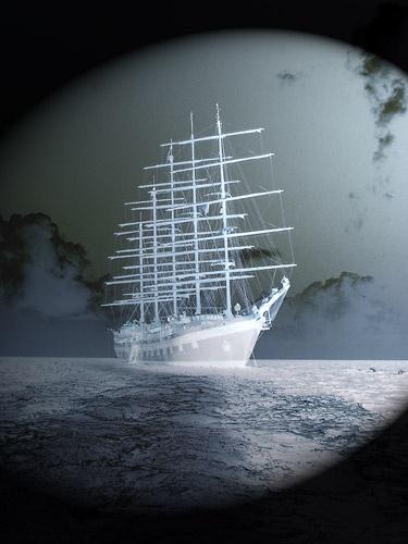 Ghost Ship by panda