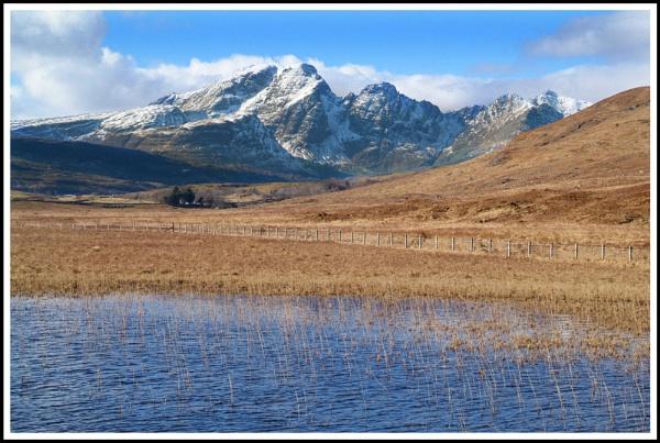 Bla Bheinn reeds by Scottishlandscapes