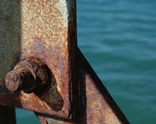 Rust vs. Sea by patrickfarrell